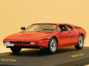 BMW M1 - 1978 - red - IXO 1:43