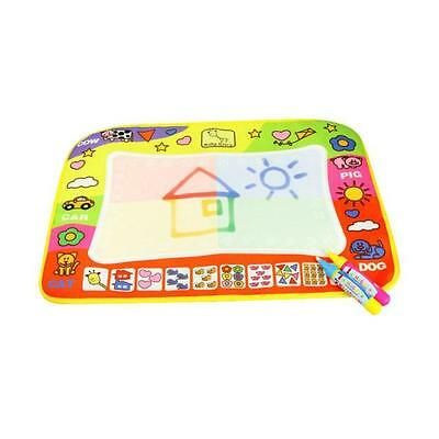 Baby Kids Children Aqua Doodle Toys 1 Painting Mat + 2 Water Drawing Pen Gift