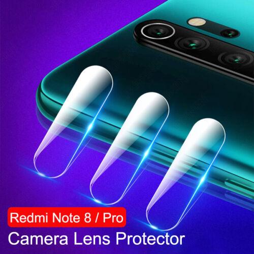 Note Cámara Lente de cristal protector de pantalla 3in1 para Xiaomi Redmi 8 7 Pro Estuche