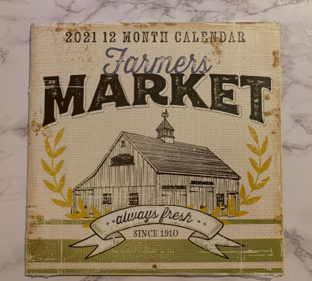 Farmers/' Market 2021 Wall Calendar