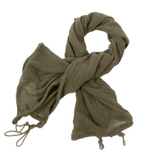 Rothco Military Army Tactical Sniper Veil Scrim Net Head Neck Scarf Gear Hammock