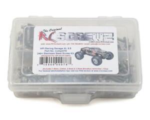 Rc Screwz Hpi Racing Savage Xl 5 9 Stainless Steel Screw Kit Rczhpi078 Ebay