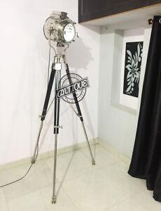 Image Is Loading Silver Era Theatre Retro Style Floor Lamp On