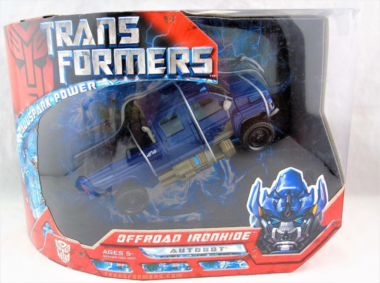 Transformers 2007 Movie Voyager Class Off Road Ironhide MISB