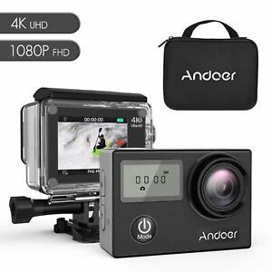 Details about Andoer AN4000 WiFi 4K 30fps 16MP Action Sports Camera 1080P  60fps Full HD New