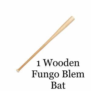 Wood Fungo Bats SELECT THE LENGTHS YOU NEED Maple Blem Bats