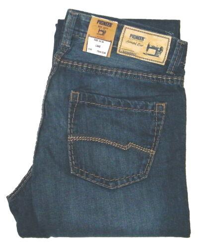 PIONEER ® Herren Jeans LAKE W36 L38 DUNKELBLAU ÜBERLÄNGE EXTRA LANG 9125544