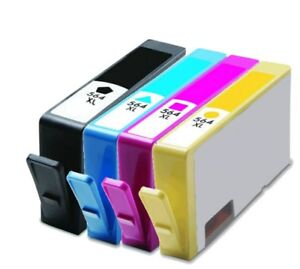 Details about 4PK #564XL Ink Cartridges for HP Deskjet 3070a 3520 3521 3522  3526