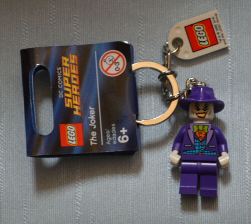 LEGO Minifigure Keychain /> 851003 The Joker DC Universe Super Heroes