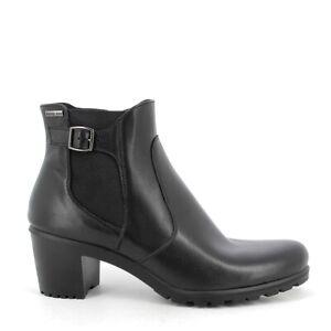 ENVAL SOFT 8253200 stivaletto tronchetto scarpe tacco pelle tex