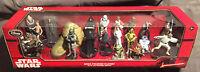 Disney Star Wars Mega Figure Play Set-sold Out- W/ Banned Slave Leia Mint