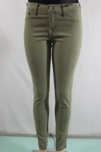 FLYING-MONKEY-NEW-WOMEN-039-S-SKINNY-JEANS-SZ-31-GREEN-INSEAM-30-SUPER-STRETCH-USA