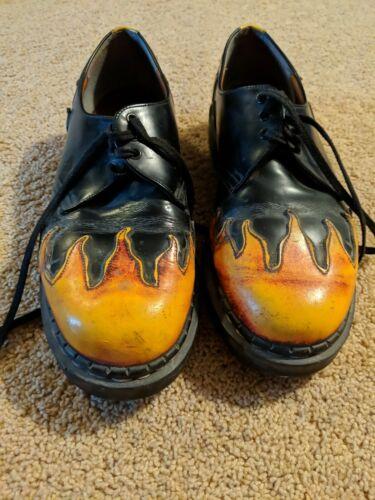 Flames Doc Martins
