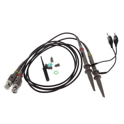 Two P6100 DC 100MHZ Oscilloscope Scope Clip Probe 100MHz For Tektronix HP SU