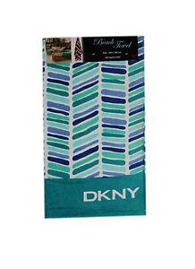 DKNY Extra Large Beach Towel 180 x 100cm