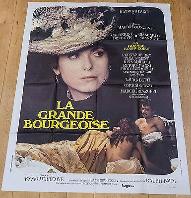 "CATHERINE DENEUVE /""LA GRANDE BOURGEOISE/"" BOLOGNINI PHOTO DE PRESSE CINEMA CM"