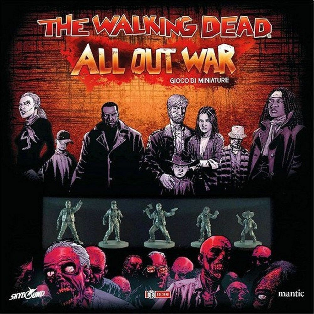 The Walking Dead: All Out Out Out War - Gioco da Tavolo Nuovo Sigillato MS Edizioni 2fbc9e