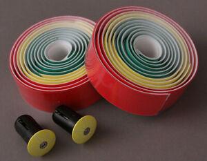 Supacaz-Super-Sticky-Kush-Yellow-Green-Red-Handlebar-Tape-Road-Track-Drop-Bike