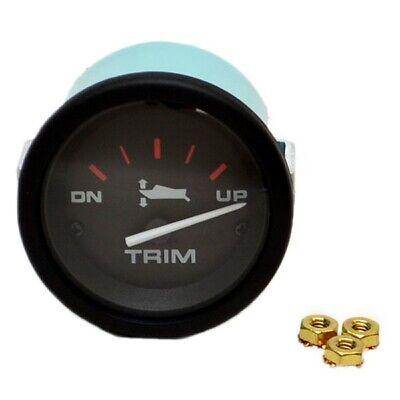 Faria Beede Instruments 33732 Chesapeake Black SS 6000 RPM Inboard Tachometer Wi