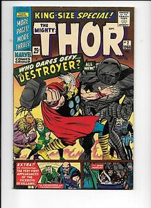 Thor-King-Size-Special-2-1966-The-Destroyer-appearance