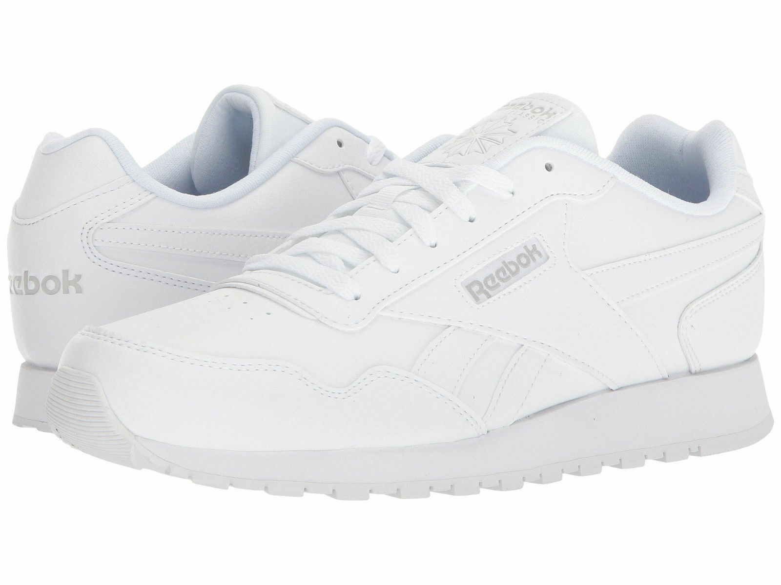 hommes Reebok Classic Classic Classic Harman Run Leather CM9202 blanc Steel 100%Authentic Brand New ecee2c
