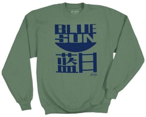 Serenity Firefly Blue Sun Logo Adult Sweat Shirt SIZE X-LARGE NEW UNWORN