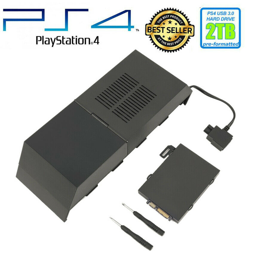 8TB Storage Capacity Data Bank Box External Game Hard Drive For Sony PS4 UK New