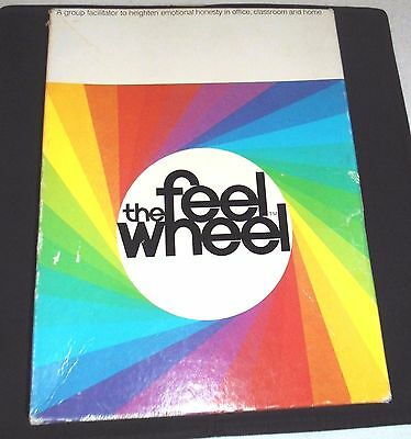 "PSYCHOLOGY TODAY - ""The Feel Wheel"" - Vintage 1972 Board Game - VERY RARE"