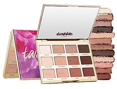 12Color Tartelette Tarte In Bloom Clay Make-up Eyeshadow Eye Shadow Palette UK