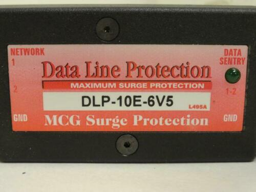 Details about  /180425 New In Box MCG Electronics DLP-10E-6V5 Data Line Surge Protector