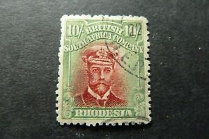 RHODESIA-1913-10-Admiral-SG-277-simplified-used