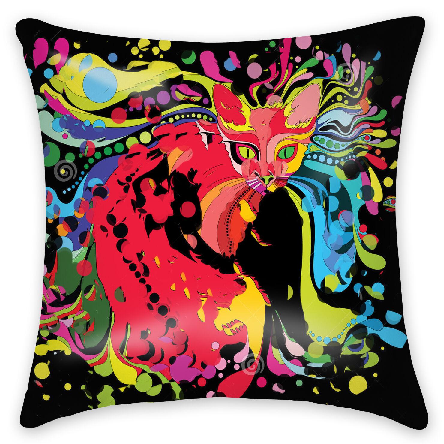 Doomagic Animal Pillow Case : Animal Collection Bird Horse Flamingo Cushion Cover Home Decor Throw Pillow Case