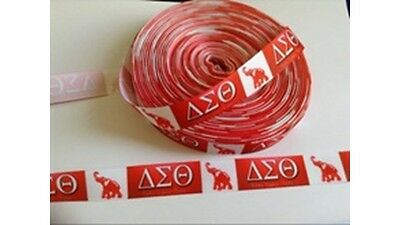 """1/"""" DELTA SIGMA THETA INSPIRED  GROSGRAIN RIBBON BY THE YARD /""""MY MOMMY IS A DELTA"""