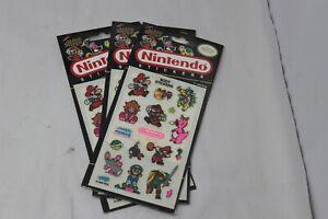 1-NINTENDO-Vintage-Sticker-Pack-Rare-80-039-s