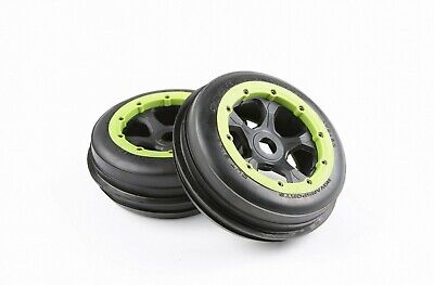 Rubber Front and Rear Sand Tire Kit for 1//5 HPI Baja 5B Rovan King Motor Tyre