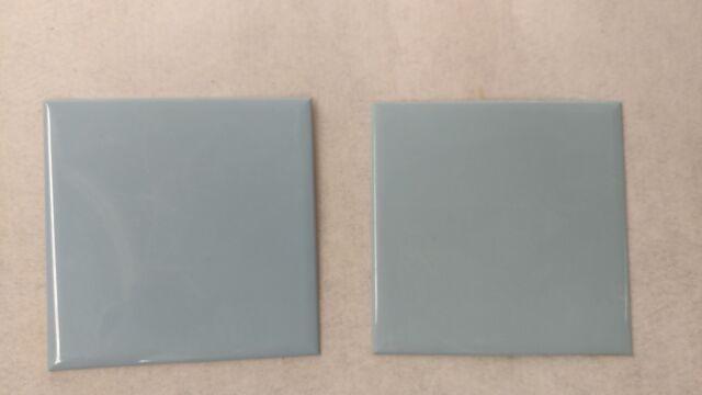 "VINTAGE WHITE GREY MARBLE PLASTIC TILE 4 1//4/"" wall bathroom kitchen polystyrene"
