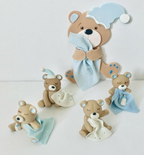 Baby Bear  Cake Topper,Baby Shower,Party,Set.