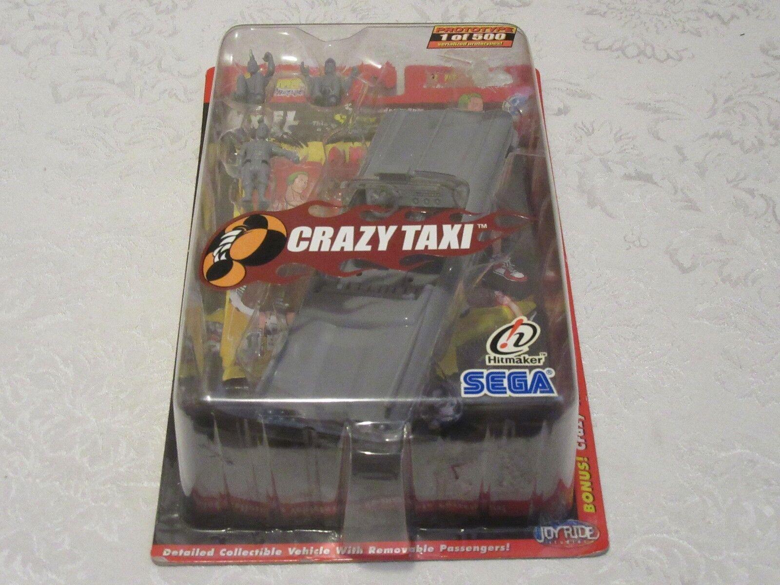 Joyride Studios GamePro Presents Crazy Taxi Sega Sega Sega Prototype Axel Series 2 Figure 84dc5e