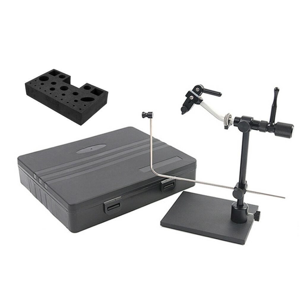 redatable Compact Fly Tying Vise Fly Tying System Vice &Fly Tying Tool Caddy