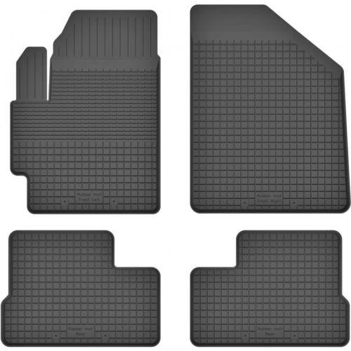Gummimatten Fußmatten 1.5 cm Rand passt für SUZUKI SPLASH ab 2008 4-teile Set