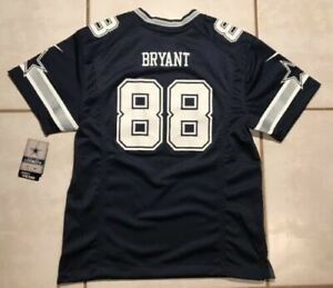 wholesale dealer b9b42 a2358 Nike Dallas Cowboys Dez Bryant NFL Jersey Youth Medium