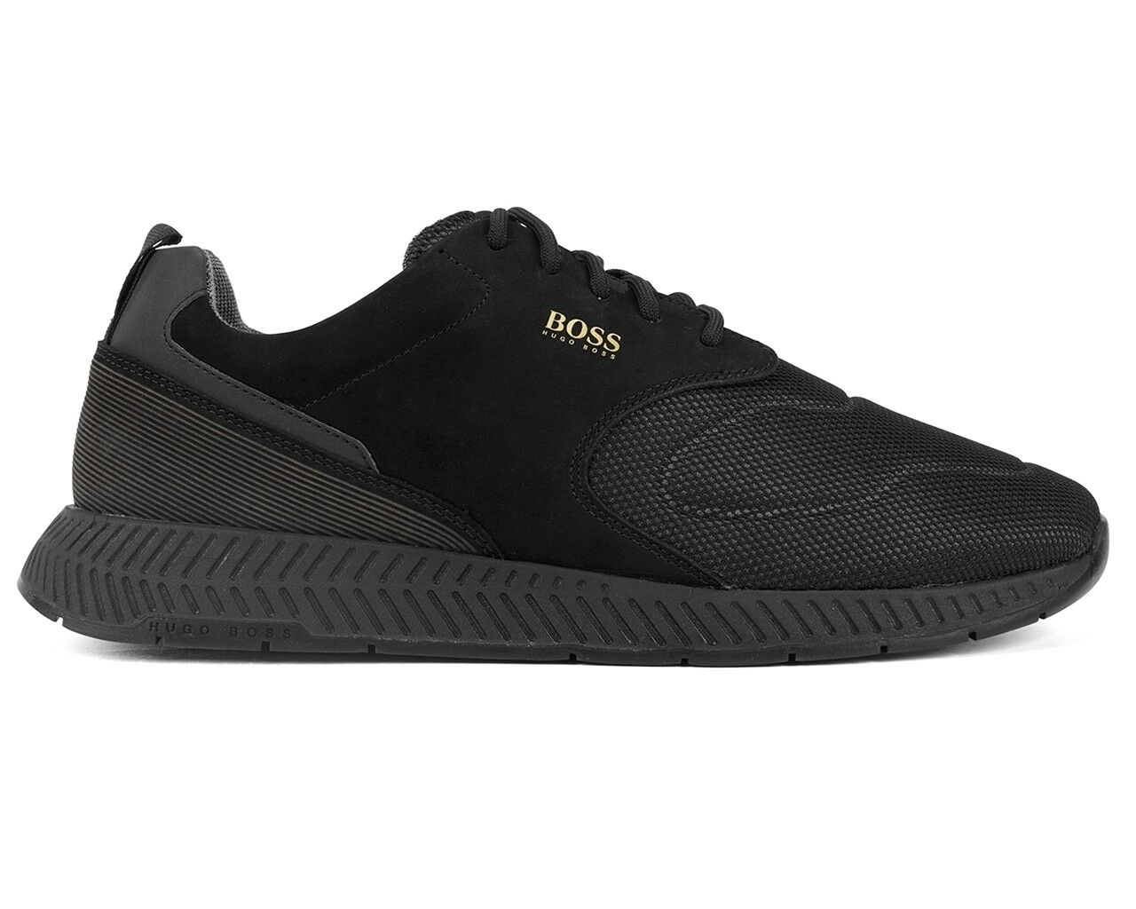 Hugo Boss Titanium Runn Act2 50401844 001 Mens Trainers Black shoes