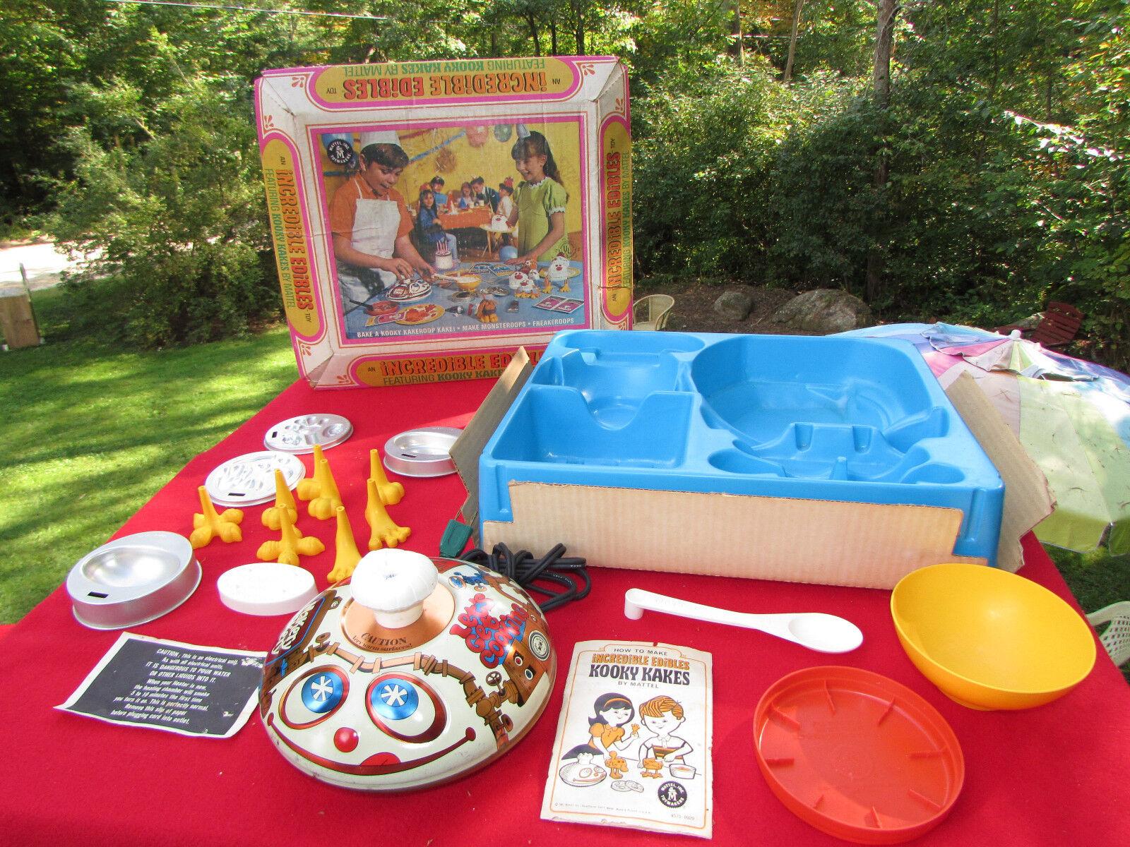 Vintage - unglaubliche fressalien verspielt kakes - mattel 1967 sache maker.