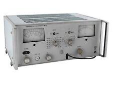 1mkv10mv 01 30mhz B6 10 Selective Microvoltmeter An G Fluke Hp Agilent Genrad