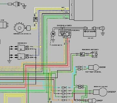 honda 1998-2000 vt750c / cd ace color wiring diagram schematic pdf ... ace wiring diagram 2003 honda vt 750 c2 shadow wiring diagram ebay