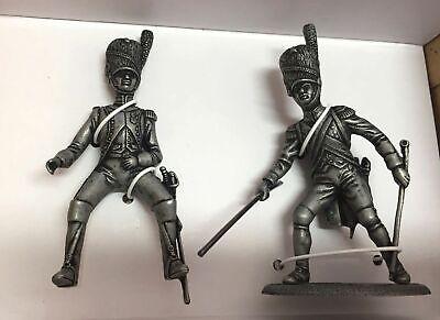 7426 023 Dragón y caballo Grand Armée Napoleon Figura Soldado de plomo Atlas
