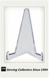 Ultra-Pro Small Clear 1-Piece Lucite Easel Stand pack of 5 for Cards /& Coin Pack