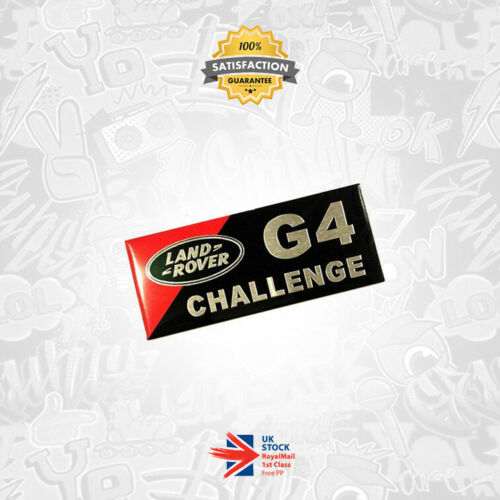 Auto-Tuning & -Styling Land Rover G4 Challenge Metal 3D Badge ...