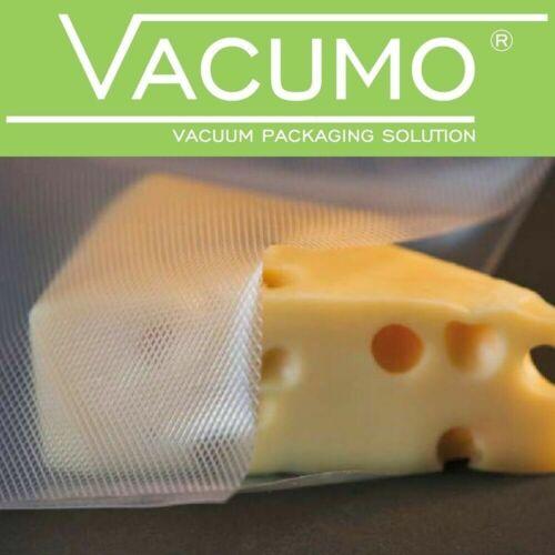 500 Vakuumbeutel 12 x 25 cm VACUMO S-VAC Vakuumfolie Vakuumierbeutel goffriert