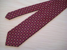 KOLTE Couture Italy Pink/Black/Gray/Blue 100% Silk Neck Tie from Syd Jerome